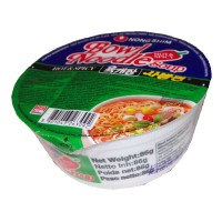 HOT & SPICY Bowl Nudelsuppe - NONGSHIM 86g