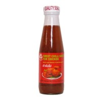 Süße Chili Sauce für Huhn - Sweet Chili Sauce chicken Cock Brand - 180ml