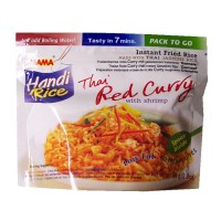 Handi Rice Thai Red Curry with Shrimp - MAMA 80g