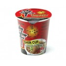 Shin Cup Nudelsuppe - hot & spicy - scharf & würzig - Nong Shim 75g