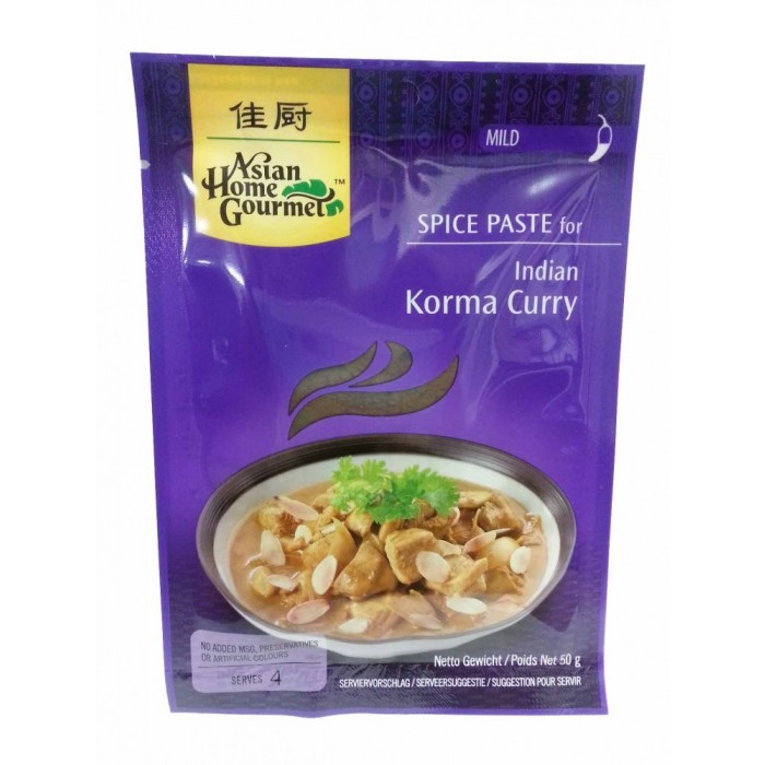 Gewürzpaste für Korma-Curry - 50 g - Asian Home Gourmet -