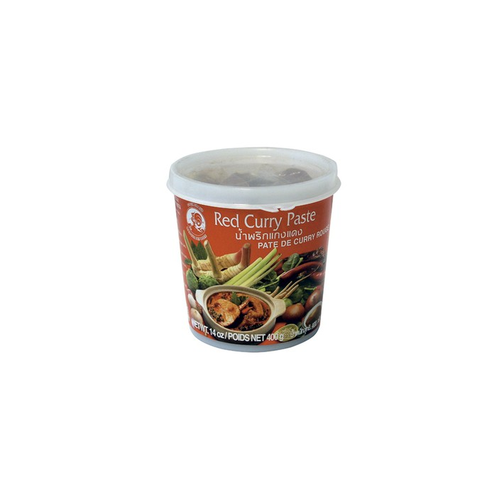 Rote Thai-Currypaste - 400 g - Cock -