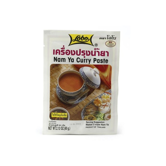 Nam Ya Curry Paste - Namya thailändische Curry Paste - 60g