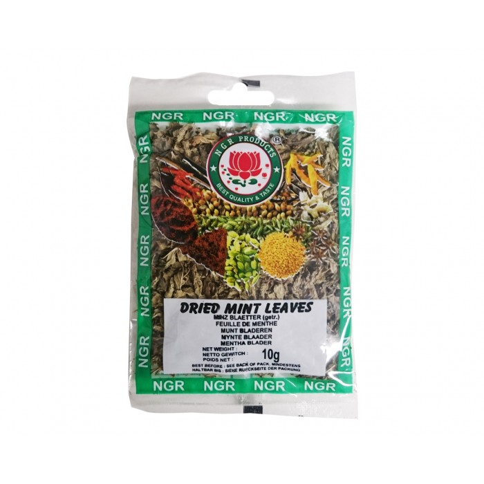 Dried Mint Leaves - getrocknete Minzblätter - 10g- NGR