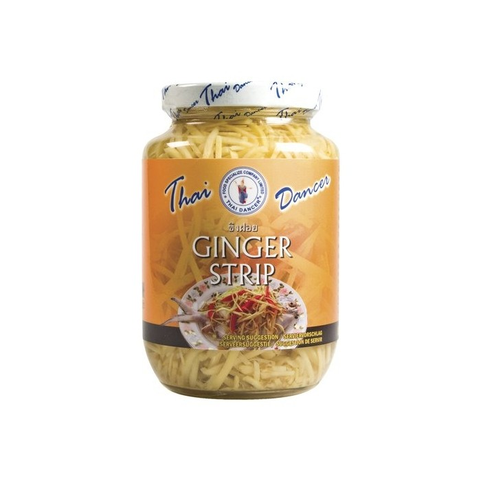 Ingwer Streifen - pickled ginger - 454g Thai Dancer