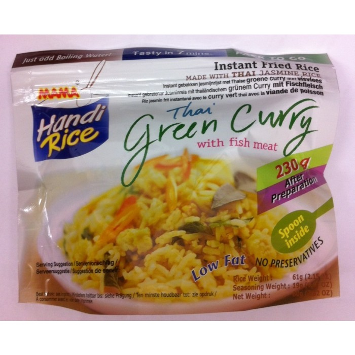 Handi Rice - Thai Green Curry - 80 g - Mama